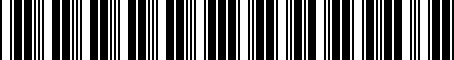 Barcode for 000071128F