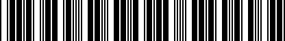 Barcode for 1Y0093055