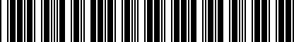 Barcode for 8D0877297