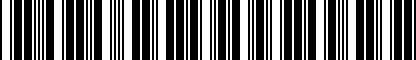 Barcode for DRG012790