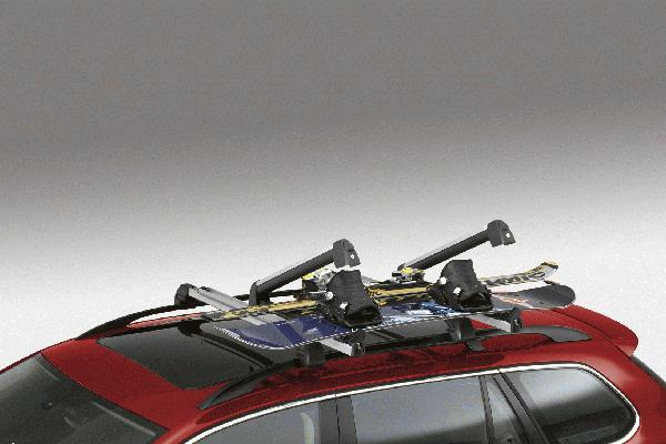 Diagram Base Carrier Bars (1K9071151666) for your 2010 Volkswagen Jetta