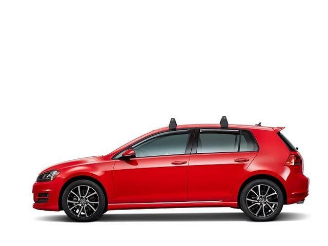 Diagram Base Carrier Bars  (2 door) (5G3071126) for your 2010 Volkswagen Jetta